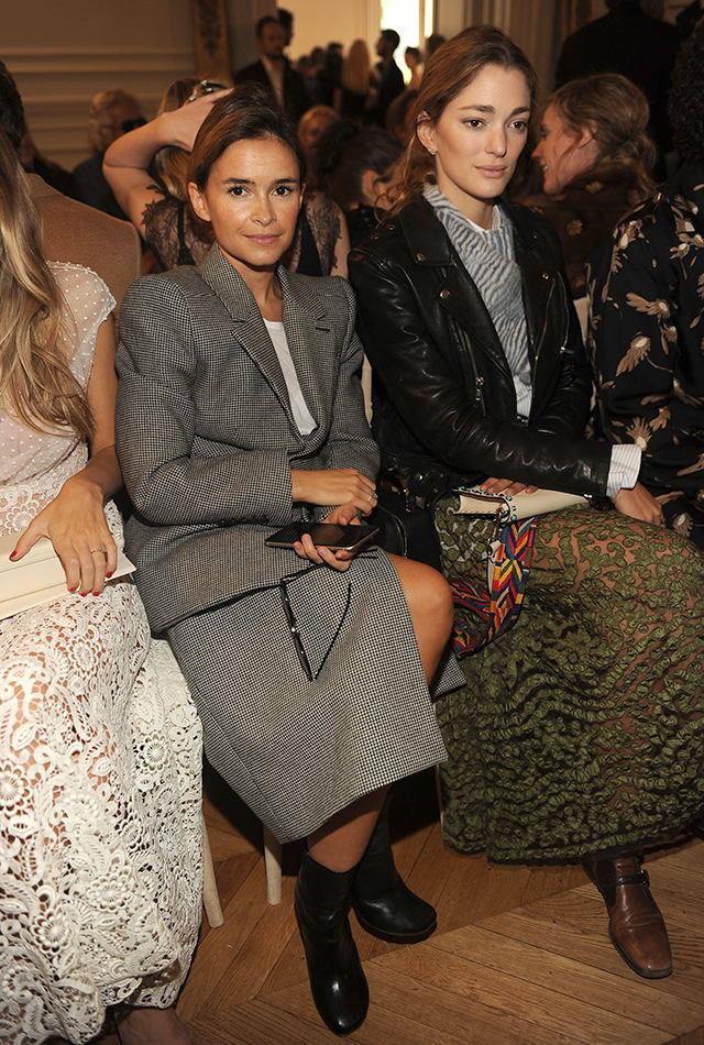 Valentino front row and after-party
