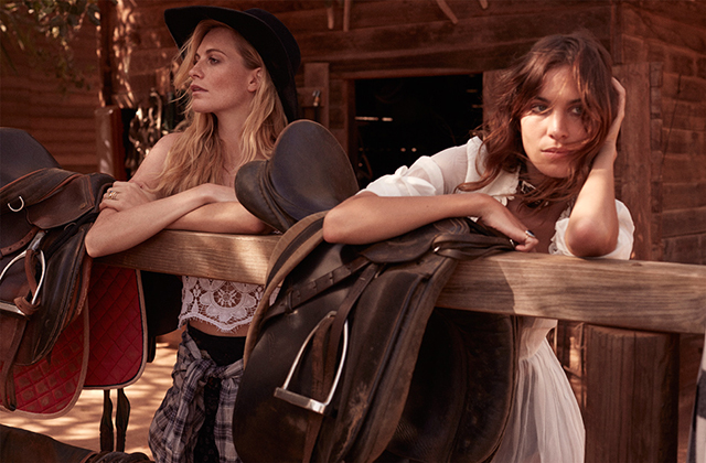 Poppy Delevingne and Alexa Chung unite for Net-a-Porter's 'The Edit' (фото 6)