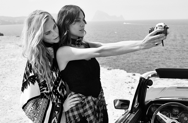 Poppy Delevingne and Alexa Chung unite for Net-a-Porter's 'The Edit' (фото 9)