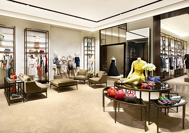 Burberry open new flagship in Dubai