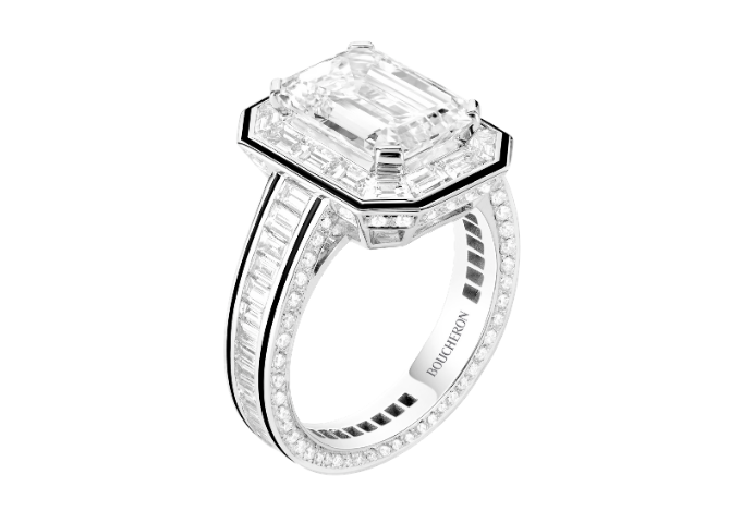 This new Timeless High Jewellery collection is adorned with Boucheron's signature codes (фото 3)