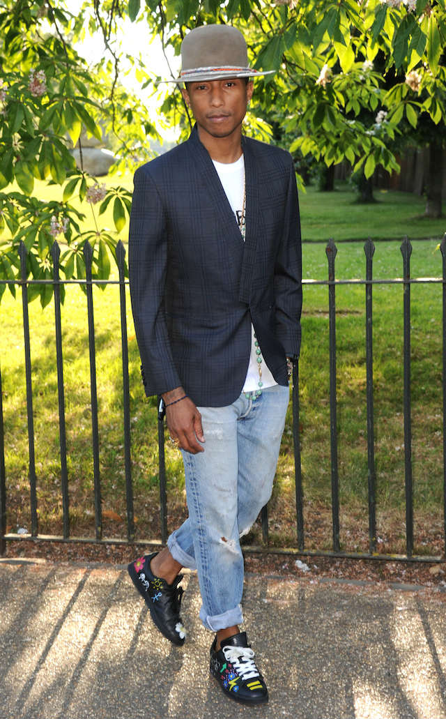Pharrell and Ricardo Tisci celebrate summer at the Serpentine Gallery