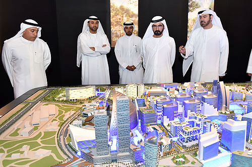 Dubai launches planet's first temperature controlled city - The Mall of the World (фото 2)