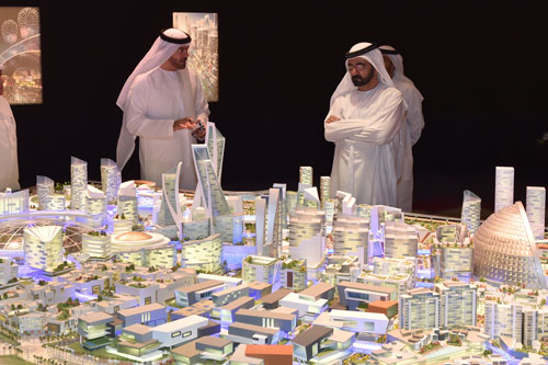Dubai launches planet's first temperature controlled city - The Mall of the World (фото 1)