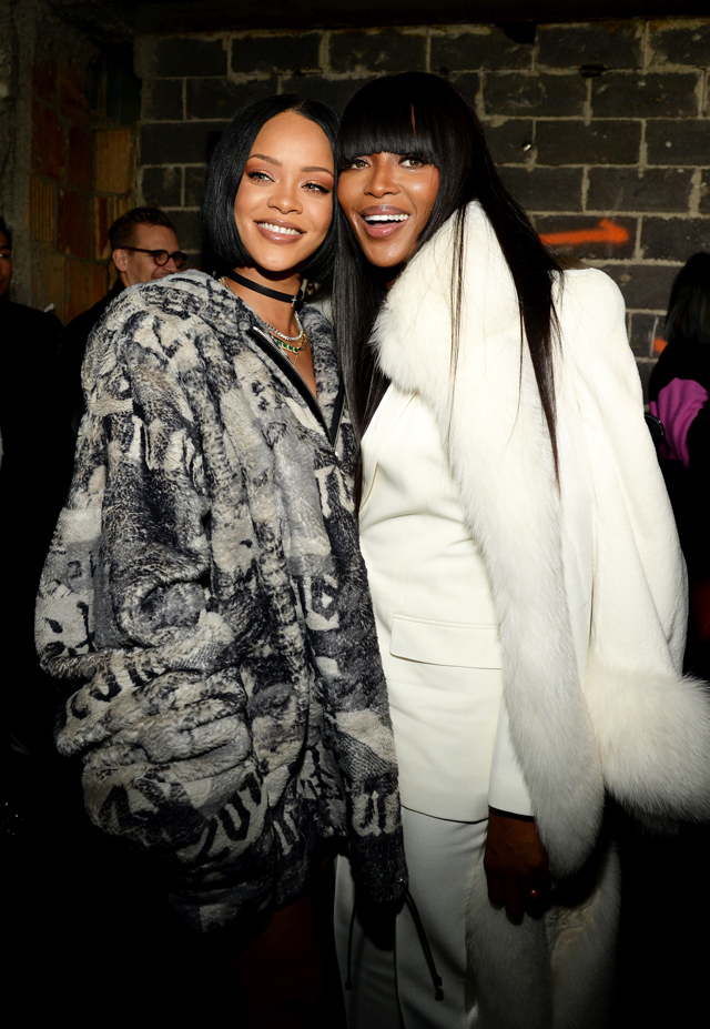New York Fashion Week: The guests at Rihanna's Fenty x Puma (фото 3)