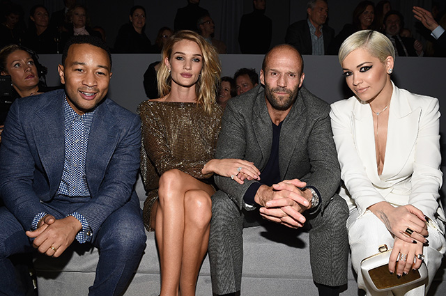 Guests at Tom Ford show