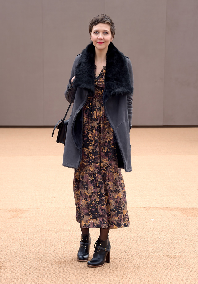London Fashion Week: The guests at the Burberry Prorsum show (фото 4)