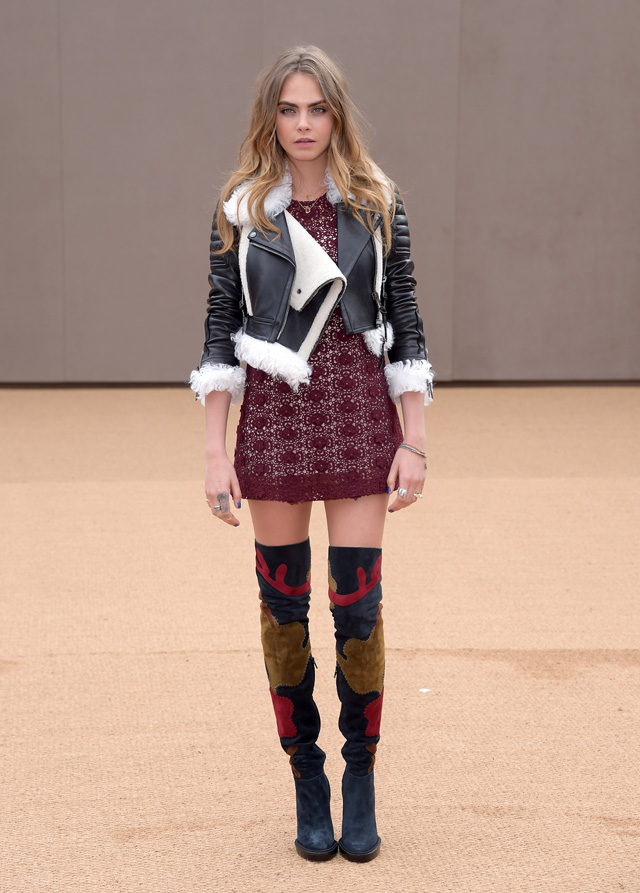 London Fashion Week: The guests at the Burberry Prorsum show (фото 6)