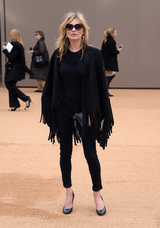 London Fashion Week: The guests at the Burberry Prorsum show (фото 3)