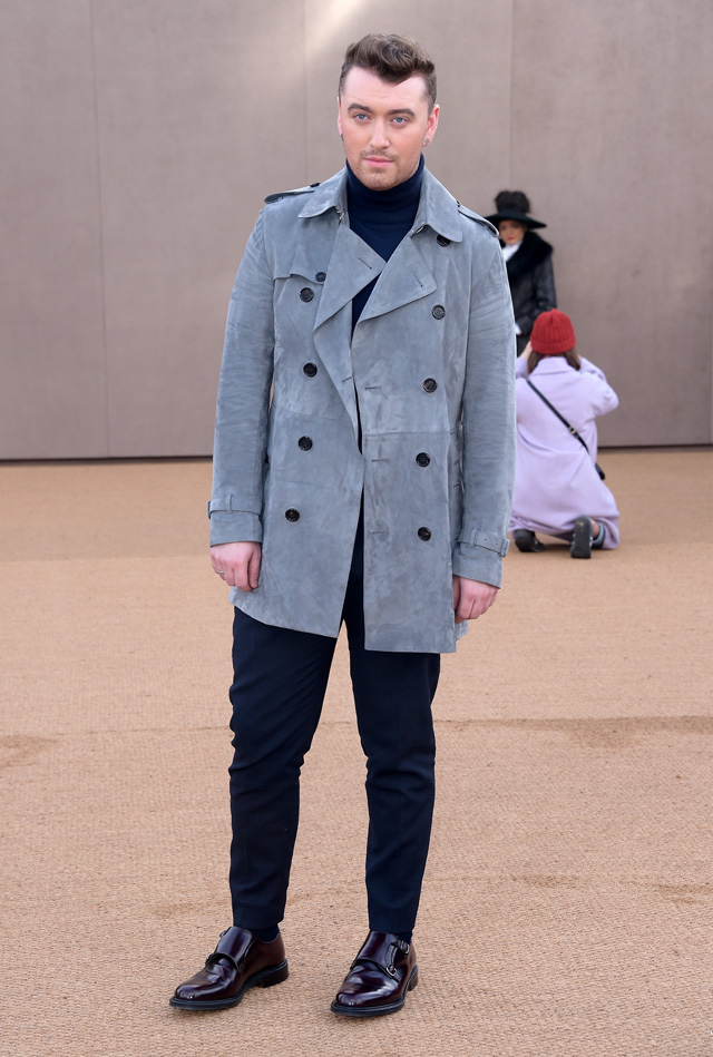 London Fashion Week: The guests at the Burberry Prorsum show (фото 9)
