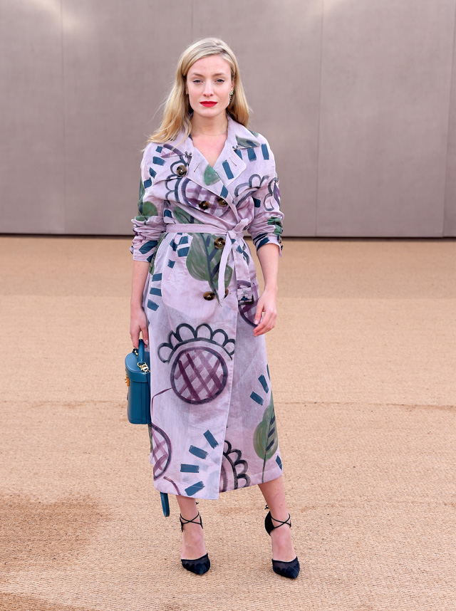 London Fashion Week: The guests at the Burberry Prorsum show (фото 15)