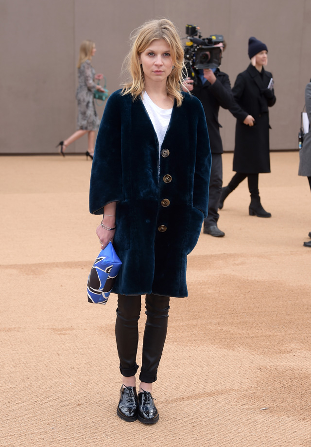 London Fashion Week: The guests at the Burberry Prorsum show (фото 7)