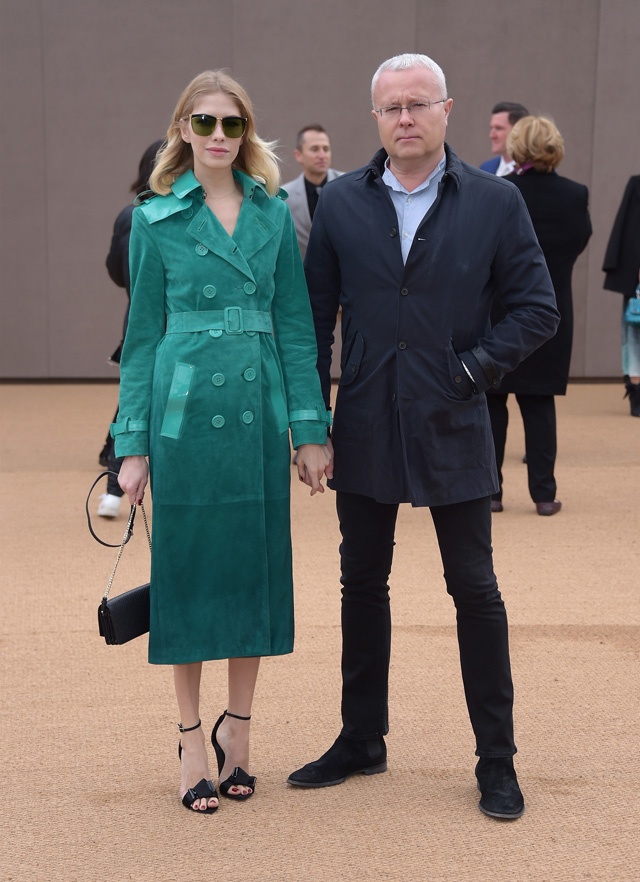 London Fashion Week: The guests at the Burberry Prorsum show (фото 8)