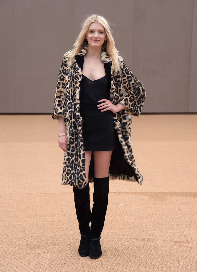 London Fashion Week: The guests at the Burberry Prorsum show (фото 14)