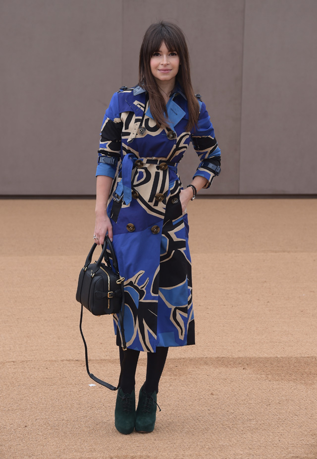 London Fashion Week: The guests at the Burberry Prorsum show (фото 5)