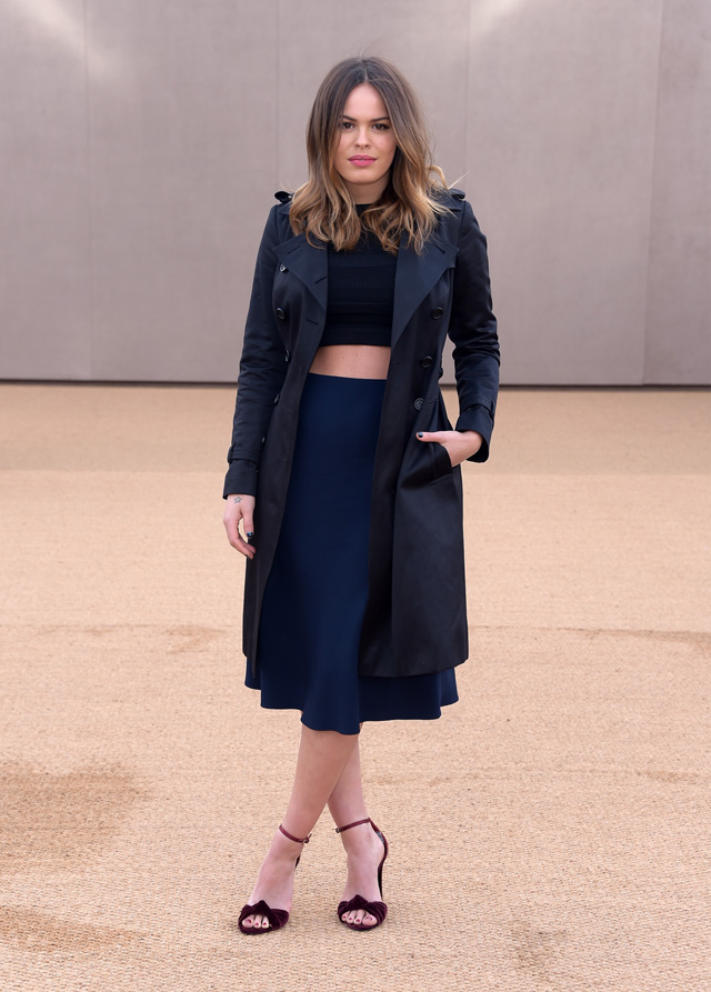 London Fashion Week: The guests at the Burberry Prorsum show (фото 18)