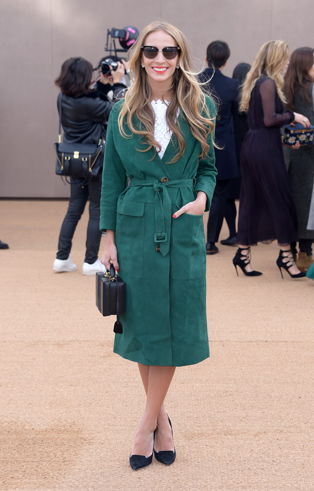 London Fashion Week: The guests at the Burberry Prorsum show (фото 13)
