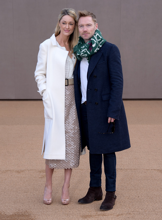London Fashion Week: The guests at the Burberry Prorsum show (фото 16)