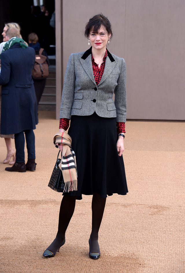 London Fashion Week: The guests at the Burberry Prorsum show (фото 17)