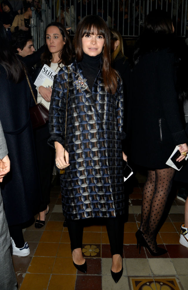 The guests at the Lanvin show