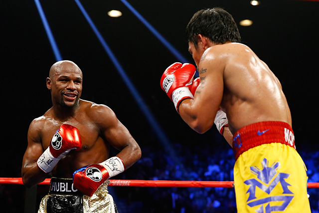 Fight winner mayweather