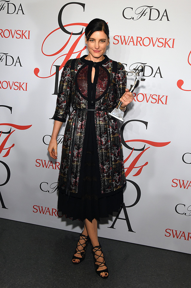 CFDA Awards 2015: The winners (фото 4)