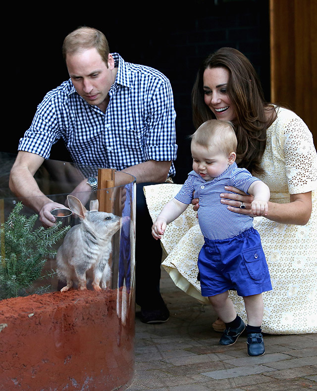 Prince William, Kate Middleton and baby George celebrate Easter in Australia