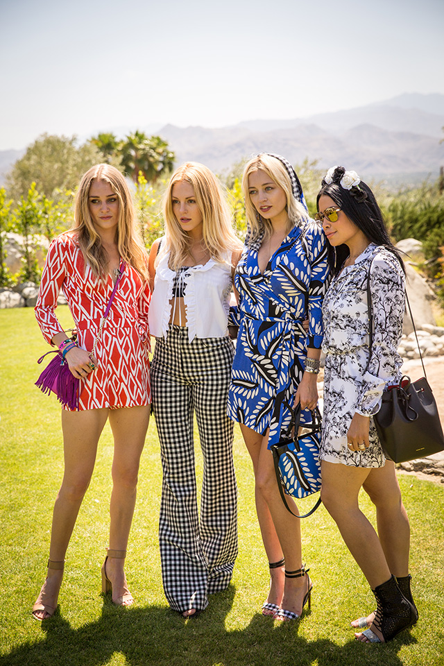 Rachel Zoe and DVF host an intimate brunch at Coachella