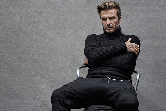 David Beckham gets up close and personal with Mr. Porter (фото 3)