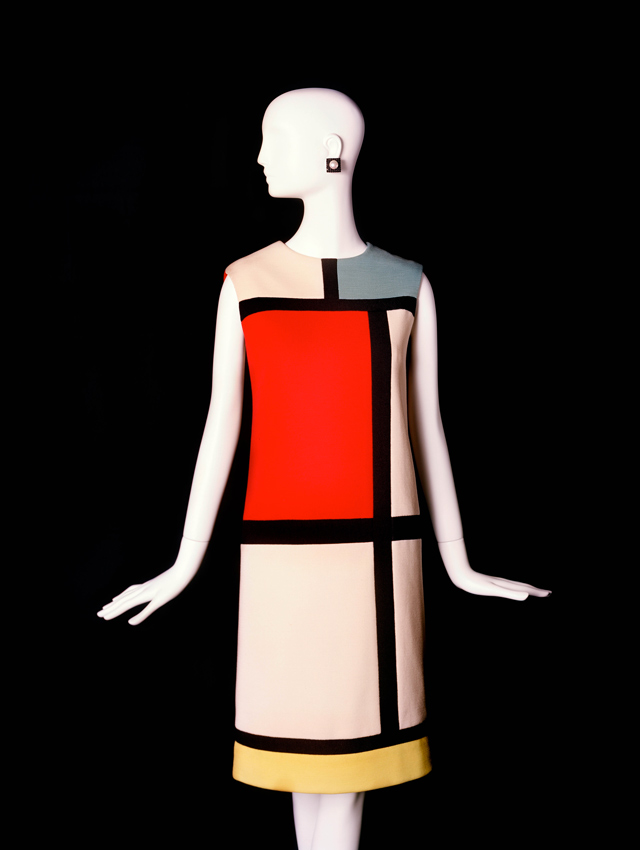 Yves Saint Laurent Mondrian collection