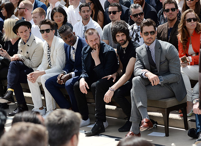 The guests at the Burberry Prorsum