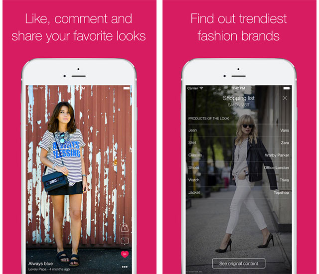 5 Fashion apps for iOS devices