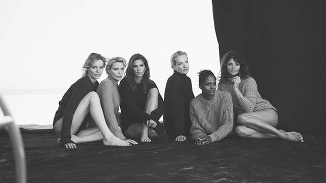 Peter Lindbergh reunites some of the world's most iconic models