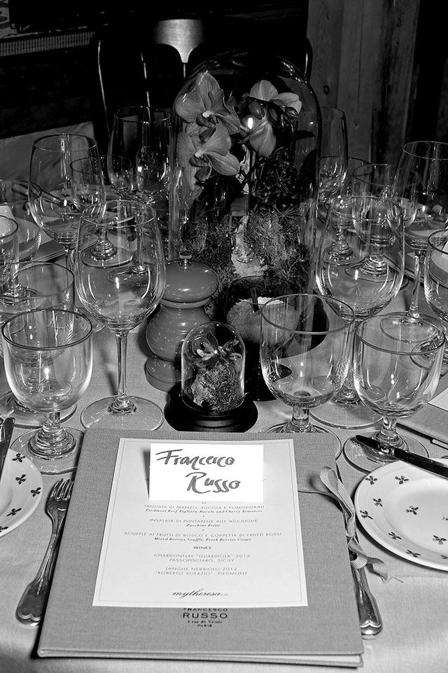 Mytheresa.com hosts London dinner in honour of Francesco Russo (фото 19)