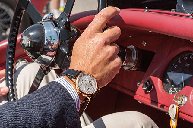The Lange 1 Time Zone watch