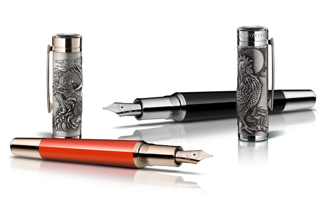 2017 fashion jewellery trends - Montblanc Unveils New Eastern Inspired Writing Instruments