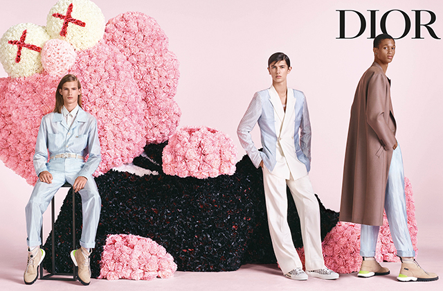 Kim Jones reveals debut campaign for Dior Homme (фото 5)