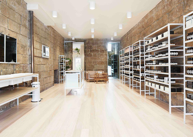 Henry Wilson transforms old bakery into new Sydney Aesop ...