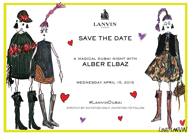 """It is all about heat and heart here,"" Alber Elbaz hosts Dubai event"