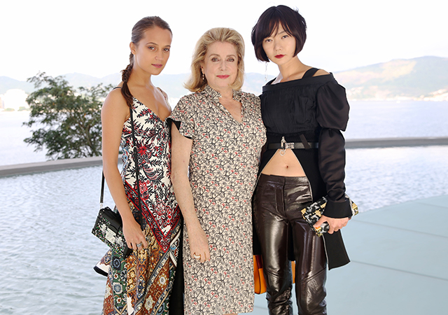 Alicia Vikander, Catherine Deneuvea and Doona-Bae