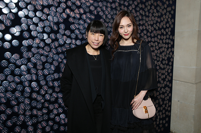 Angelica Cheung and Tang Yan