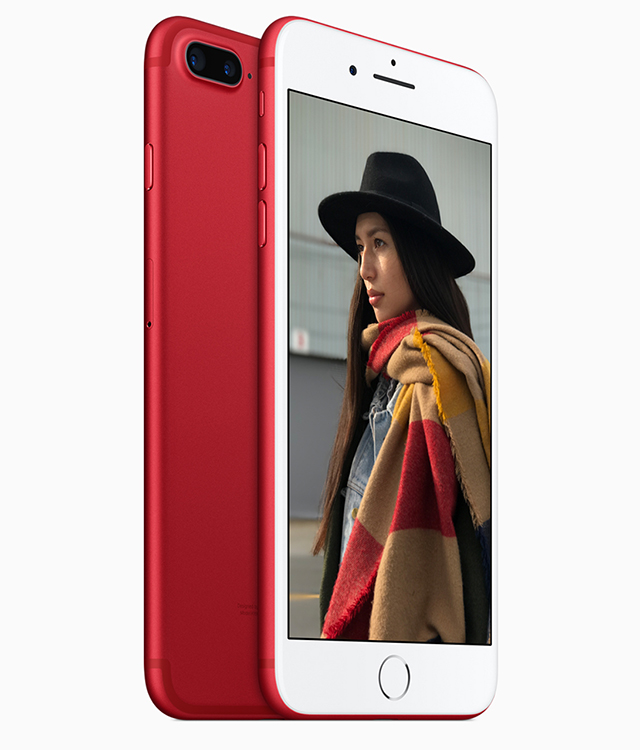Apple RED special edition plus launches