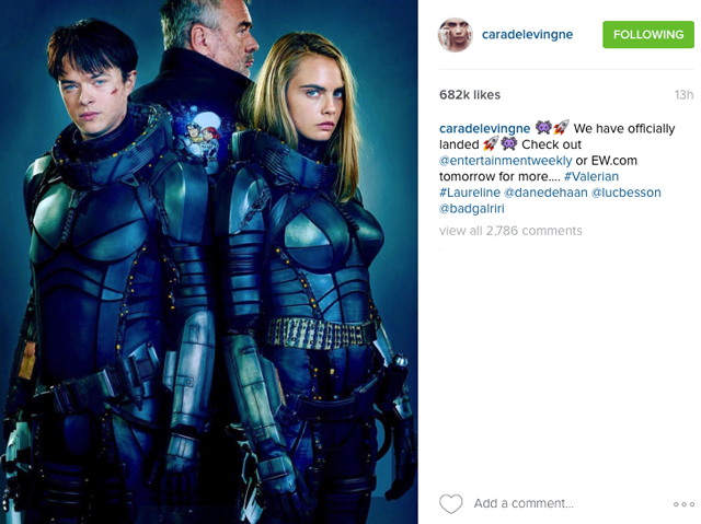 First look: Cara Delevingne shares sneak peek of new film (фото 1)