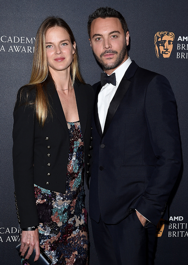 Shannon Click and Jack Huston