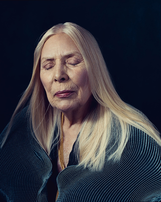 """Basically, at this time, I'm trying to fix my legacy. It's been butchered."" – Joni Mitchell"
