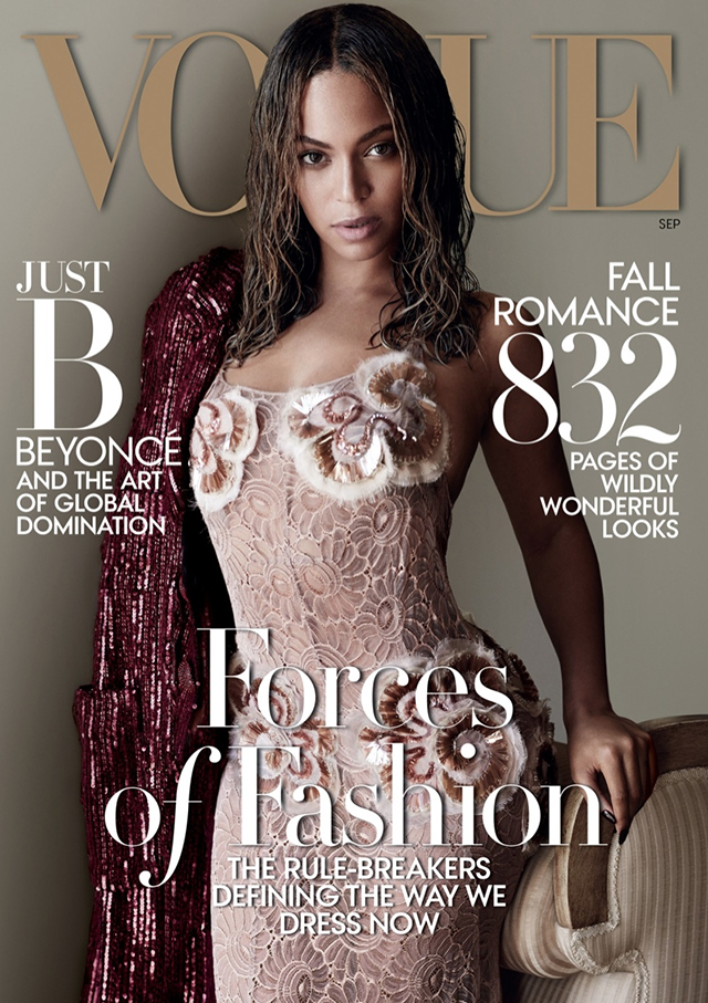 Behind-the-scenes at Beyonce's Vogue cover shoot