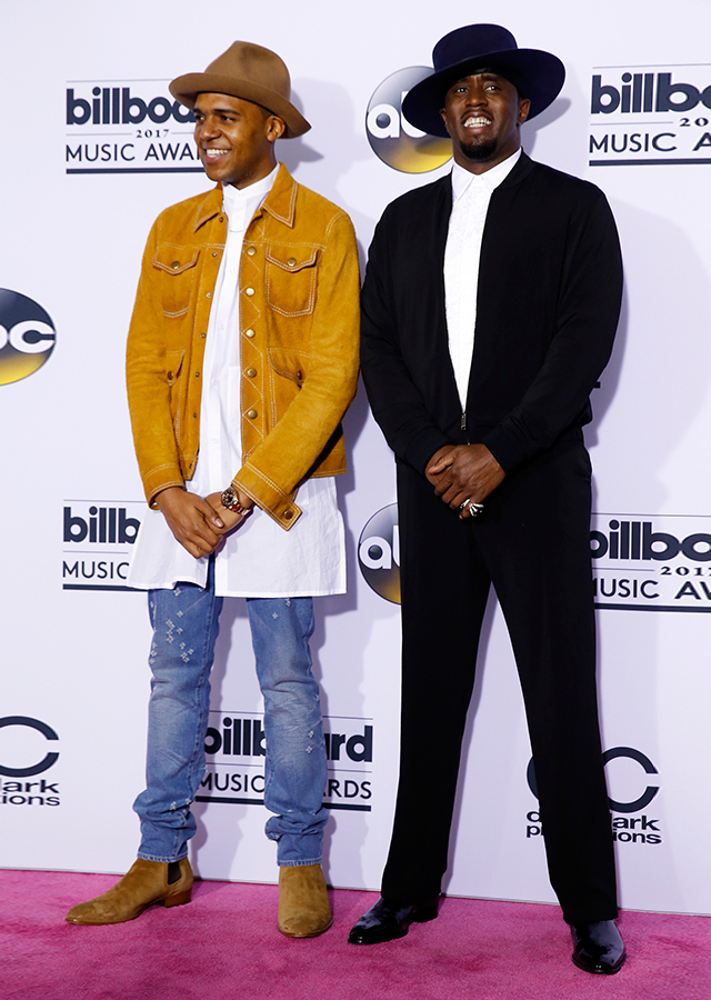 C.J. Wallace Jr. and Sean Diddy Combs