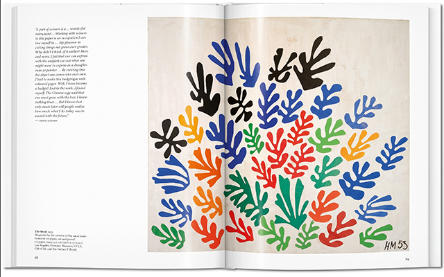 Book of the week Matisse. Cut-outs