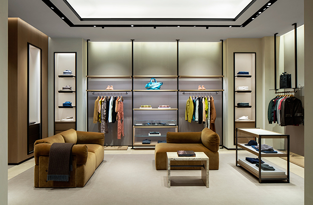 Bottega Veneta opens its largest store in the Middle East in The Dubai Mall extension (фото 1)