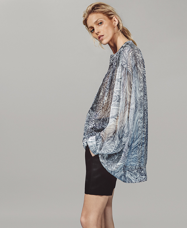 Boutique 1 launches capsule collection with Iro and Anja Rubik (фото 3)
